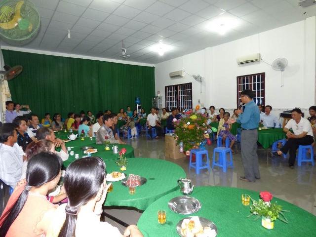 Sinh hoạt vui Trung Thu tại HT Đông Phú